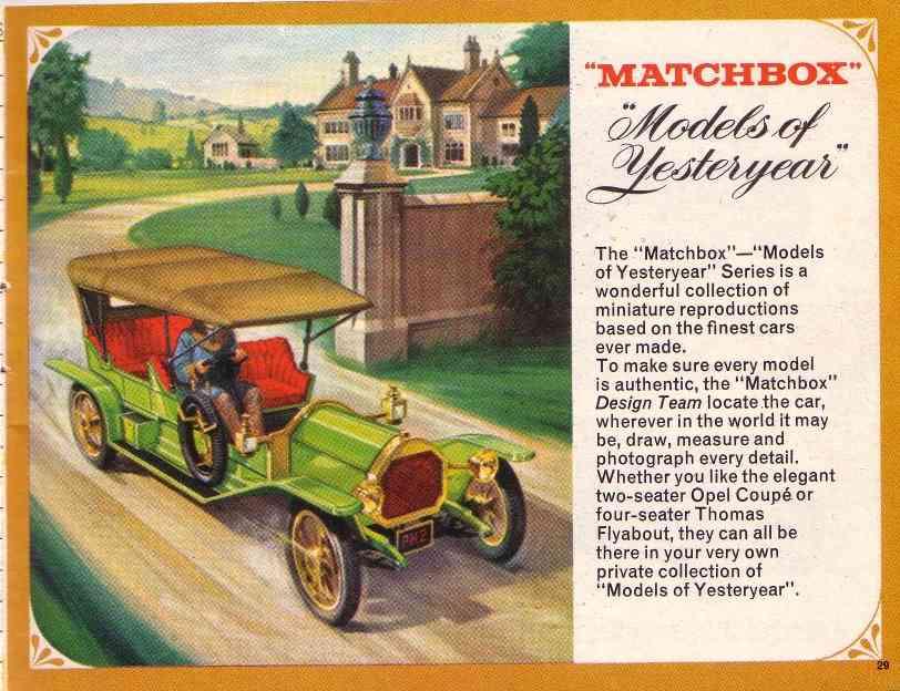 Matchbox 1968 Catalogue