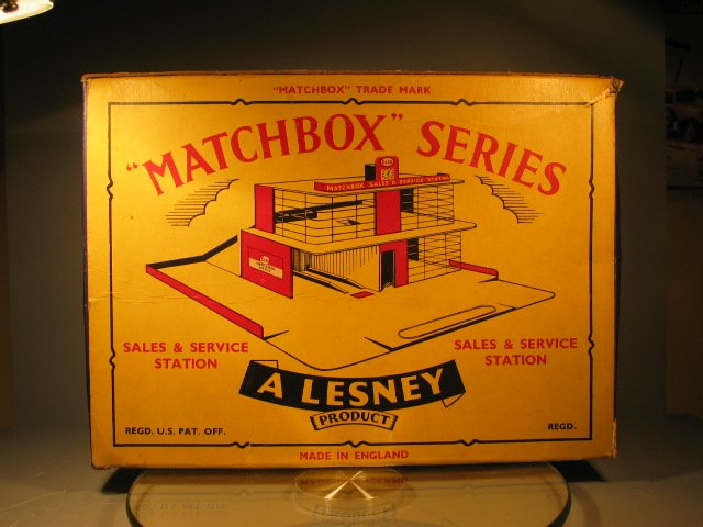 Matchbox Service Stations